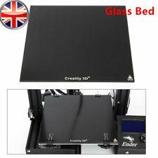 More details for office creality ender-3/ender 3pro/ender 5 3d printer 235x235mm glass bed plate