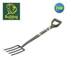 Bulldog Evergreen Steel Garden Border Fork with Wooden Ash Shaft & D Handle
