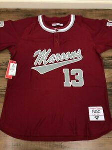 Derek Jeter Kalamazoo High School Authentic Baseball Jersey by Headgear Classics