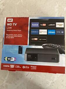 Western Digital TV WD TV Live HD 1080p Streaming Media Player
