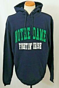 NEW Notre Dame Fighting Irish Colosseum Distressed Sweatshirt Hoodie Men's L