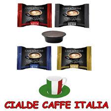100 Capsule Cialde Caffe Borbone 70 Nere 10 Rosse Blu Oro Compatibili a Modo Mio