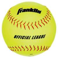 Franklin Sports Official League Synthetic Softball - 4 Pack