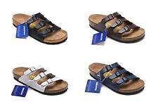 New Fashion Birkenstock Florida Cork Birko-Flor Sandal Unisex Shoes Hot