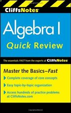 CliffsNotes Algebra I Quick Review, 2nd Edition (C