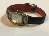 925 Sterling Silver ECCLISSI Reverso Watch Quartz