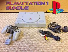 Complete Full Playstation PS1 Retro Console Bundle - With CONTROLLER, LEADS!