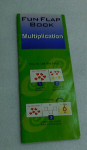 Fun Flap Book Multiplication Self Correcting Allied Pictures Number Trace 2002