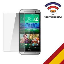 Actecom protector pantalla cristal templado para el HTC One M8 premiun con caja