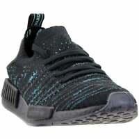 adidas NMD_R1 STLT Parley Primeknit Sneakers Casual   Sneakers Black Mens - Size
