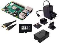 U:Create Raspberry Pi 4 Model B 8GB Starter Kit, Black