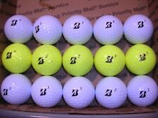 15 Bridgestone e6 Aaaaa Golfballs,10 White, 5 Yellow#184
