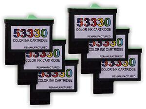 Primera 53330 6 pack Color Ink Cartridge for Bravo II,  XR