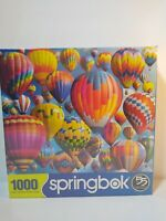 Jigsaw Puzzle Balloon Fest 1000 Piece Springbok Hot Air Balloons