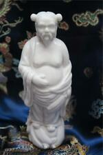 BLANC de CHINESE FIGURINE Man OX HORNS HAIR