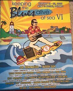 Joe Bonamassa Keeping Blues Alive VI Poster