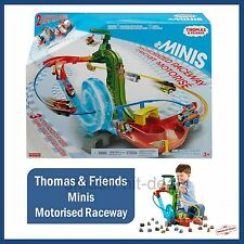 Thomas & Friends Minis Motorised Raceway Playset With 2 Exclusive Trains NEW