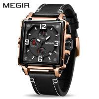MEGIR Creative Men Watch Top Brand Luxury Chronograph Quartz Watches