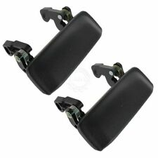 Metal Door Handles Black Textured Front Left & Right Pair Set Kit for Ranger