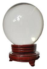 Wunderschöne Kristallkugel für Hellseher und Zauberer 15 cm Durchmesser glasklar