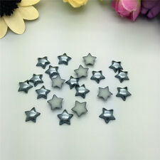 100PCS Beautiful 12MM stars Craft Flatback Beads Glossy resin Scrapbook 13colors