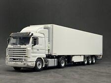 WSI Models | Scania 143 Streamline 4x2 And Fridge Trailer 3axle  1:50 Scale
