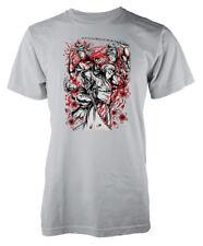 Samurai Revenge Japanese Ninja warrior sword adult t-shirt