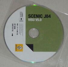 Officina Manuale Impianto Elettrico/schemi su DVD RENAULT SCENIC j84 - 07/2007