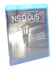 Insidious: Chapter 3 (Blu-ray+Digital HD, 2015) NEW