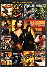 High Octane 10 Action Movies DVD Brand New Sealed