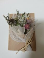 Hand made Dried flower Greeting Card (Invitation Birthday Party) with Case