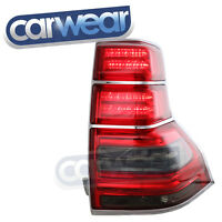 SMOKE RED LED TAIL LIGHTS FOR TOYOTA LAND CRUISER PRADO 09-13