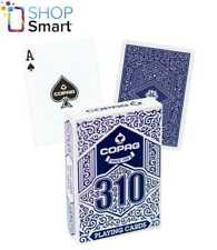 COPAG 310 POKER PLAYING CARDS DECK PAPER JUMBO INDEX BLUE NEW