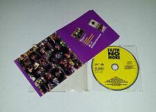 Single CD Faith No More - Epic + 3 Live Tracks War Pigs, Suprise .. 1990 SO 25