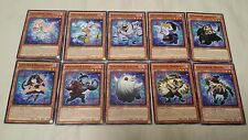 Yugioh Ghostrick Core Deck 22 Cards Alucard Scare Night Ghoul Free Booster Pack
