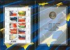 Nederland  NVPH 2260-2269 Uitbreiding Europese Unie met € 5,00 munt 2004