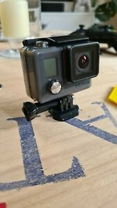 Gopro hero (2014) grey with accessories and SD cards