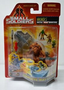 "Small Soldiers (Kenner, 1998) ARCHER'S Battle ""Head"" Quarters Case Fresh Set"