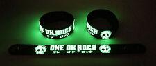 ONE OK ROCK NEW! Glow in the Dark Rubber Bracelet Wristband Clock Strikes gg145
