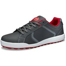 Youth Founders Club Boys Spikeless Street Golf Shoe Grey/Red Tour Tuned Model