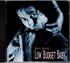 Berti Baiker - Low Budget Baby - Krautrock CD Album mit Biber Herrmann