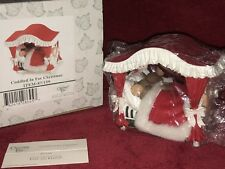 """Charming Tails """"CUDDLED IN FOR CHRISTMAS"""" DEAN GRIFF NIB"""