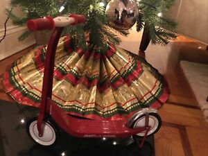 """Radio Flyer Small Miniature Toy Scooter     11 3/4"""" Tall Doll Sized"""