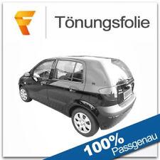 Tönungsfolie passgenau tiefschwarz 95/% Hyundai Getz 3-Türer 09//2002-06//2009