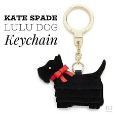 Kate Spade Lulu Scottie Dog Keychain Bag Charm