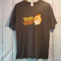 Winner Winner Chicken Dinner Graphic T-Shirt Men's Size XL EUC