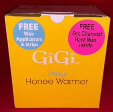 Gigi Mini Honee Warmer - For Eyebrow & Facial Waxing +Applicators Strips+5oz Wax