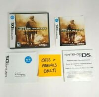 CASE & MANUALS ONLY - Call of Duty Modern Warfare Mobilized - Nintendo DS 2009