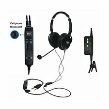 UFQ A6 ANR aviation headset-The lightest ANR aviation headset in the world