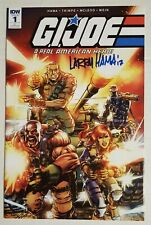 G.I. Joe A Real American Hero #1 CON EXCLUSIVE VARIANT SIGNED BY LARRY HAMA 9.8